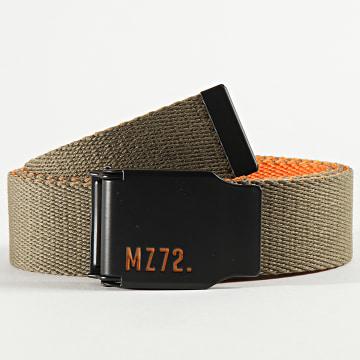 MZ72 - Ceinture Orion Vert Kaki Orange