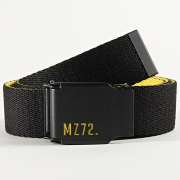 MZ72 - Ceinture Orion Noir Jaune