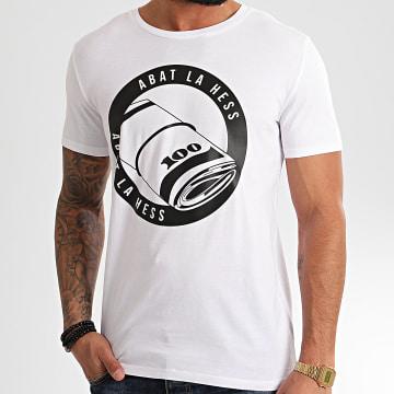 OhMonDieuSalva - Tee Shirt ABLH Blanc Noir