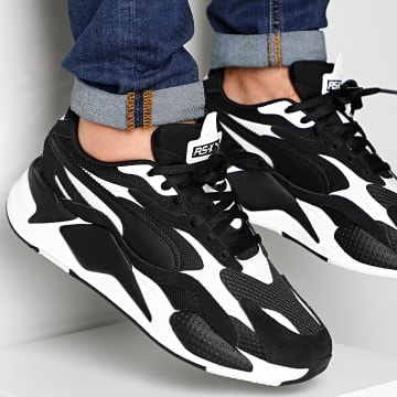 Baskets RS-X3 Super 372884 Puma Black Puma White