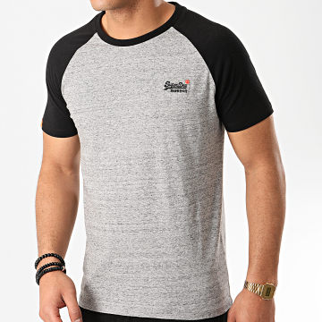 Superdry - Tee Shirt OL Classic M1010140A Gris Chiné