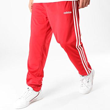 Pantalon Jogging A Bandes Essential 3 Stripes FM6280 Rouge