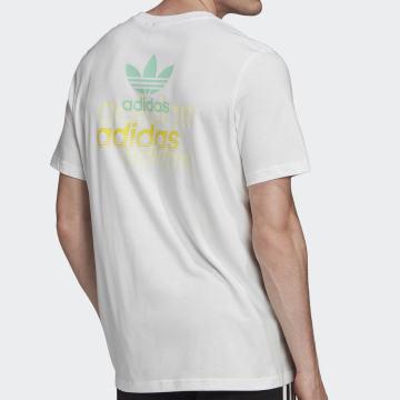Adidas Originals - Tee Shirt FM3348 Blanc