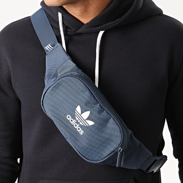 Adidas Originals - Sac Banane Essential Crossbody FL9660 Bleu Marine