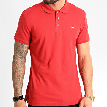 Polo Manches Courtes MMKS01738 Rouge