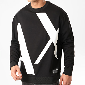 Armani Exchange - Sweat Crewneck 3HZMFD-ZJ1NZ Noir