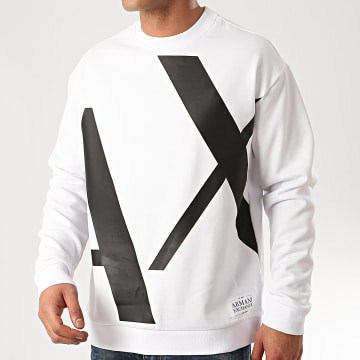 Armani Exchange - Sweat Crewneck 3HZMFD-ZJ1NZ Blanc