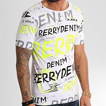 Berry Denim - Tee Shirt XP004 Blanc