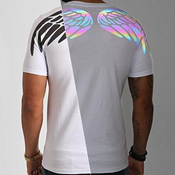Berry Denim - Tee Shirt XP003 Blanc Réfléchissant