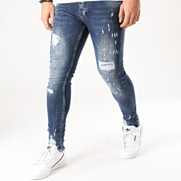 Black Needle - Jean Skinny 3050 Bleu Denim
