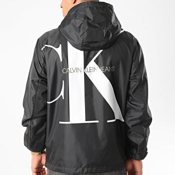 Calvin Klein - Coupe-Vent Zip Through 5279 Noir