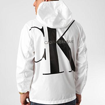 Calvin Klein - Coupe-Vent Zip Through 5279 Blanc