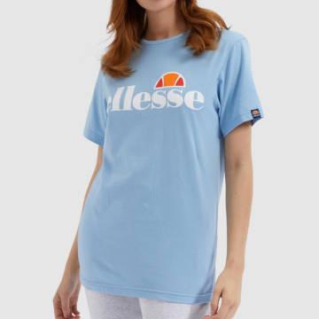 Ellesse - Tee Shirt Femme Albany SGE03237 Bleu Clair