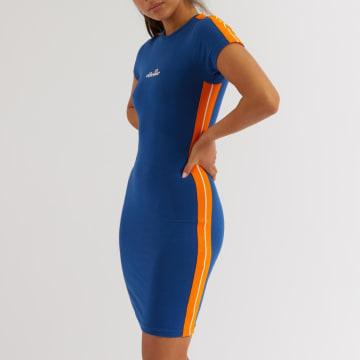 Ellesse - Robe Femme A Bande Rigi SGE08448 Bleu Roi