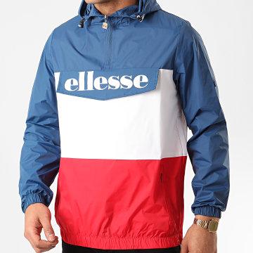 Ellesse - Coupe-Vent Domani SHE08504 Bleu Blanc Rouge