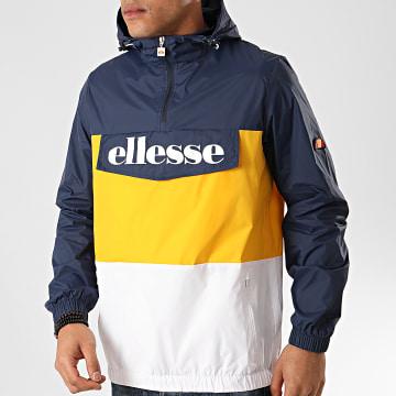 Ellesse - Coupe-Vent Domani SHE08504 Bleu Marine Jaune
