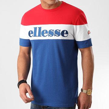 Ellesse - Tee Shirt Punto SHE08505 Bleu Roi Blanc Rouge