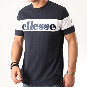 Tee Shirt Punto SHE08505 Bleu Marine Noir