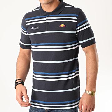 Polo Manches Courtes Lewoodio SHE08519 Bleu Marine