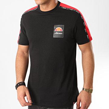 Tee Shirt A Bandes Serchio SHE08527 Noir