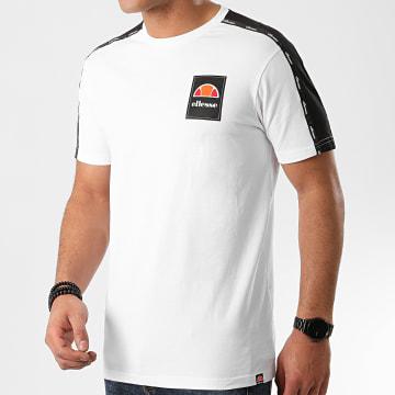 Tee Shirt A Bandes Serchio SHE08527 Blanc