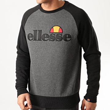 Ellesse - Sweat Crewneck Triviamo SHE08858 Gris Anthracite Chiné Noir
