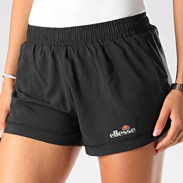 Ellesse - Short Jogging Femme Genoa SRE06387 Noir