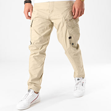 G-Star - Pantalon Cargo Droner Relaxed Tapered D16211-9288 Vert Kaki Clair