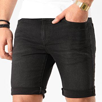 G-Star - Short Jean Slim 3301 D10481-B472 Noir