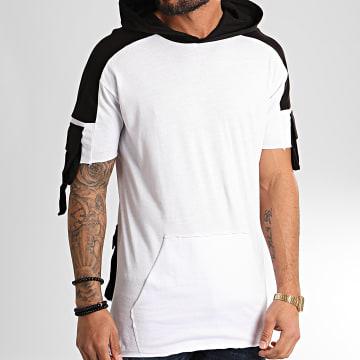 Ikao - Tee Shirt Capuche F852 Blanc