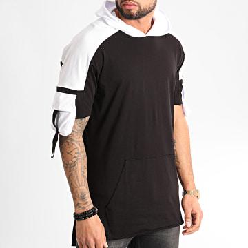 Ikao - Tee Shirt Capuche F852 Noir