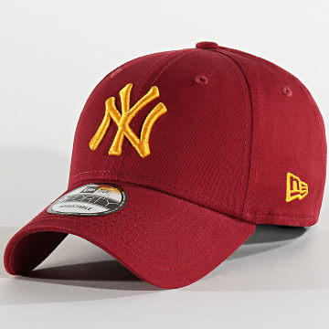 New Era - Casquette 9Forty League Essential 80536629 New York Yankees Bordeaux