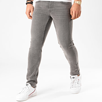 Only And Sons - Jean Slim Loom Gris