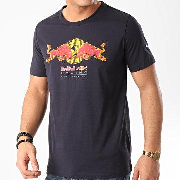 Puma - Tee Shirt Red Bull Racing Double Bull 596209 Bleu Marine