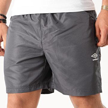 Umbro - Short Jogging 484500 Gris Anthracite