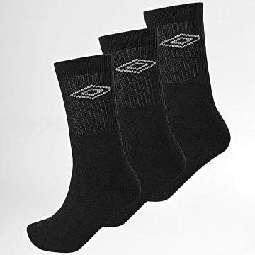 Umbro - Lot De 3 Paires De Chaussettes 527440 Noir