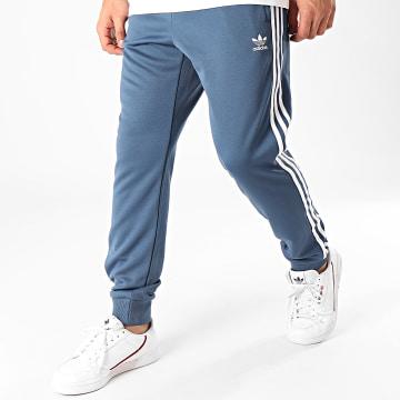 Pantalon Jogging A Bandes SST FM3807 Bleu Marine