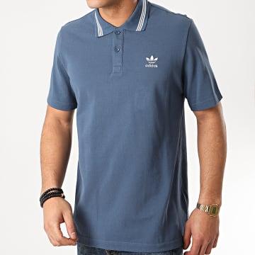 Adidas Originals - Polo Manches Courtes Pique FM9953 Bleu Marine