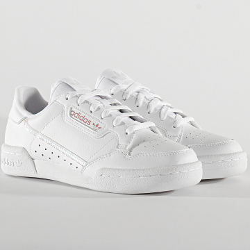 Adidas Originals - Baskets Femme Continental 80 FU6669 Cloud White Core Black
