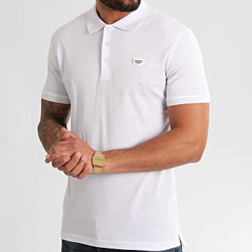 Polo Manches Courtes MMKS01738 Blanc
