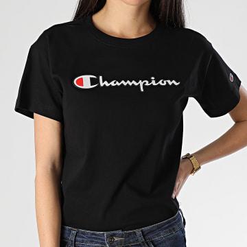 Tee Shirt Femme 112650 Noir