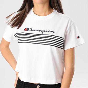 Tee Shirt Femme 113098 Blanc