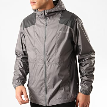 Columbia - Coupe-Vent Flashback Gris Anthracite