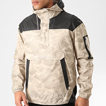 Columbia - Coupe-Vent Challenger Beige Camouflage