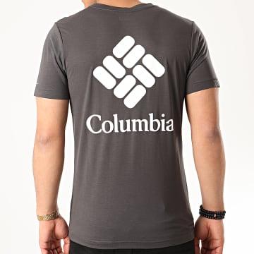 Columbia - Tee Shirt Maxtrail Logo Gris Anthracite
