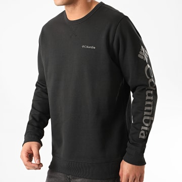 Columbia - Sweat Crewneck Logo Fleece Noir