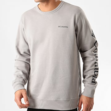 Columbia - Sweat Crewneck Logo Fleece Gris