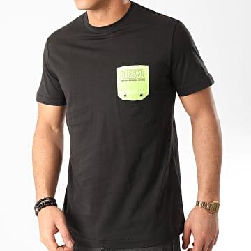 Diesel - Tee Shirt Poche Bmowt Diego 00SY99-0DAYD Noir