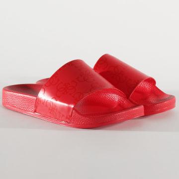 Claquettes E02Z10 Rouge