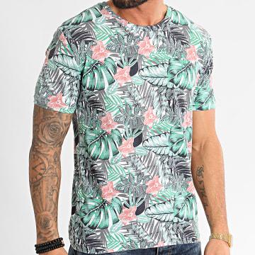 MTX - Tee Shirt F1058 Blanc Floral